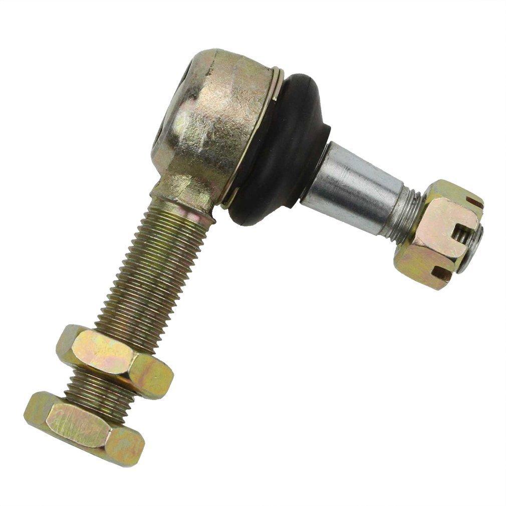 GOOFIT 12mm - 14mm Biellette Ré glage Tie Rod End pour Go Karts Quad Buggy ATV E031-033