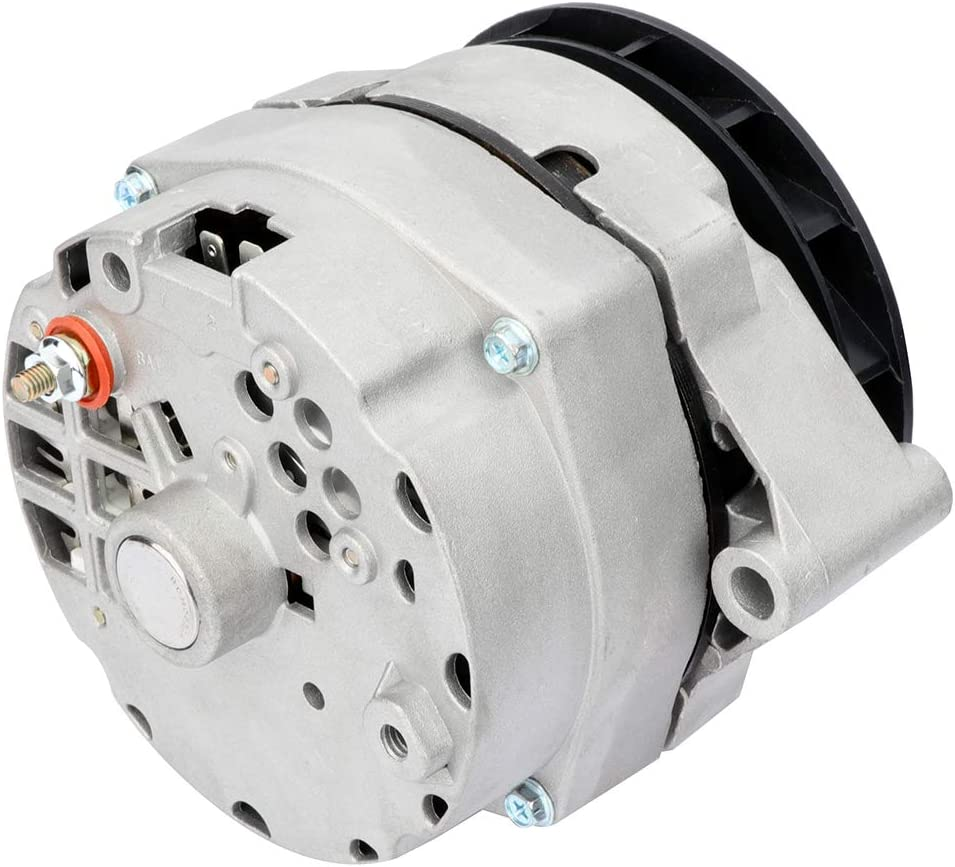 140Amp High Output High Amp Alternator Fits for Delco 12SI 1-Wire One Wire 7273-12