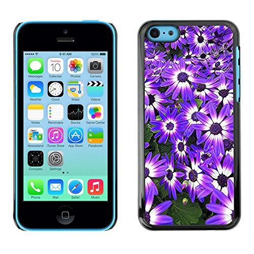 Premio Sottile Slim Cassa Custodia Case Cover Shell // F00013750 une fleur // Apple iPhone 5C