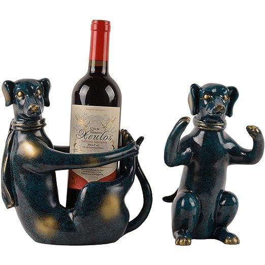 LJXLXY Decoración Manualidades Hogar botellero decoración hogar ...