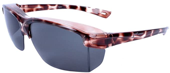 34a62ef5b0b Rapid Eyewear  Vogue  Tortoiseshell Polarized OVER GLASSES SUNGLASSES That Fit  Over Your Spectacles For