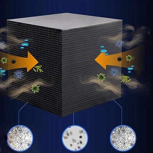 LZS Cubo purificador de Agua Eco-Aquarium, Material del Filtro del ...