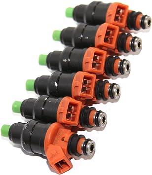 6 pcs Fuel Injectors for Mitsubishi 3000Gt/OEM INP532
