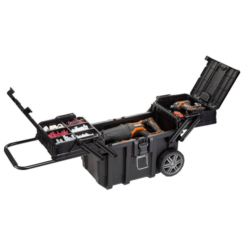 Husky 25 in. Heavy Duty is a perfect tool box for someone that needs a lot of compartments and mobility from their tool box