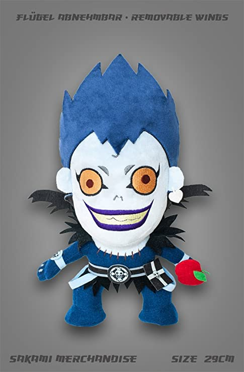 Sakami Merchandise Death Note Plush Figure Ryuk 29 cm Peluches