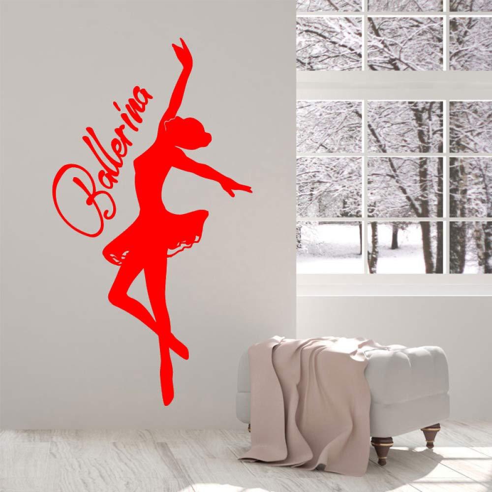 yaoxingfu Bailarina Bailarina Ballet Chica Habitación Etiqueta de ...