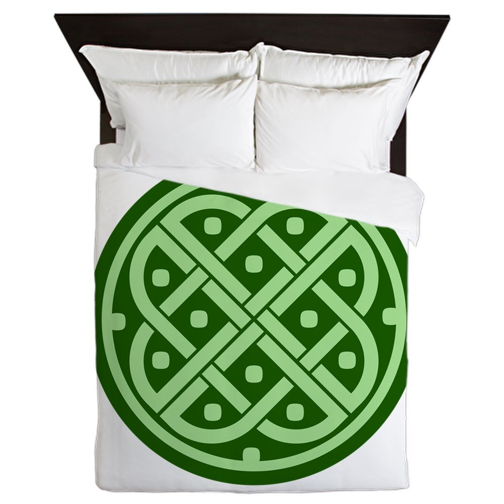 Queen Duvet Cover Celtic Knot Interlinking by Royal Lion