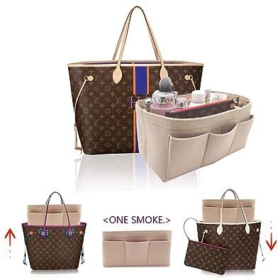 8e7f9c743e5b Amazon.com  Felt Insert Bag Organizer Bag In Bag For Handbag Purse ...