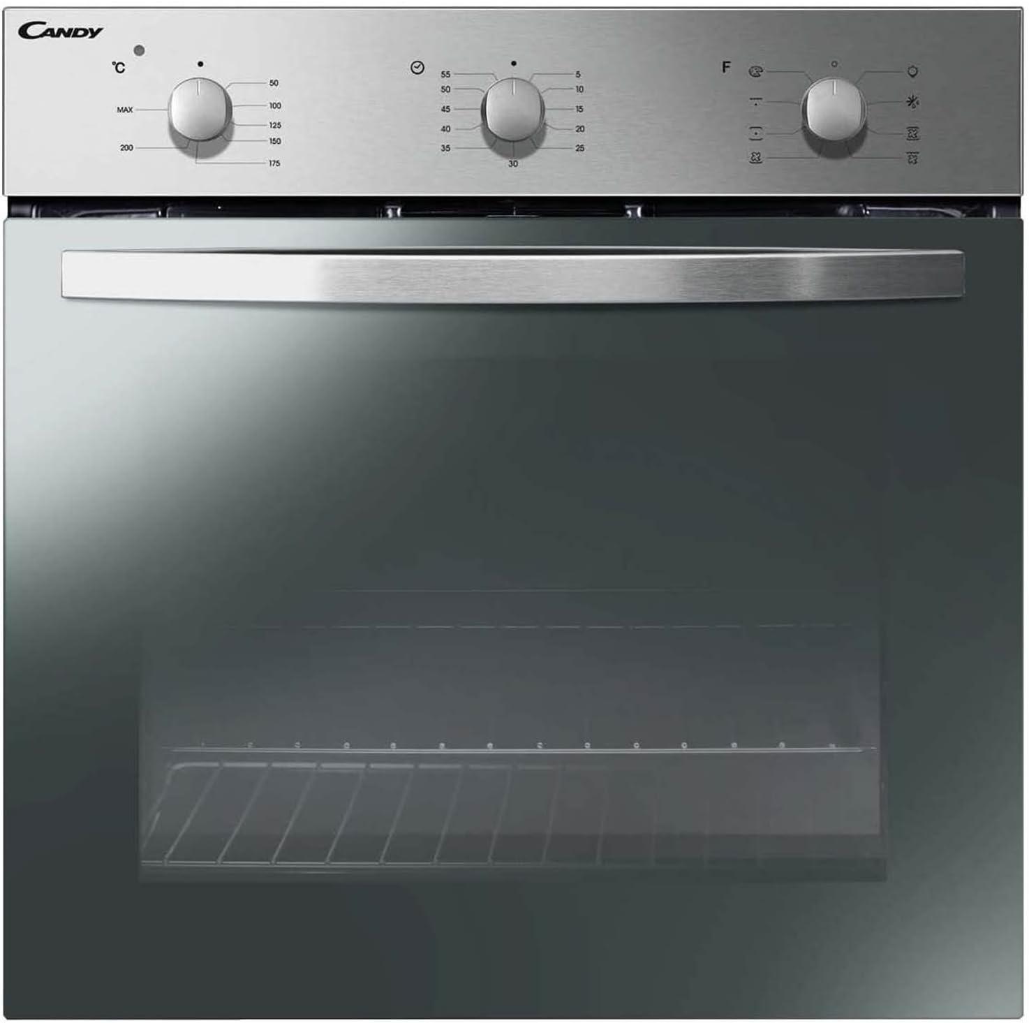 Candy FCP52X//E Forno da Incasso 60 cm ventilato 65l Classe Energetica A Inox Can