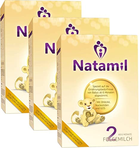 Natamil 2, cultivo folgemil, a partir del 6º mes, envase de 3 (