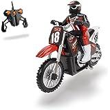 Dickie Toys 201119420 - RC Motorbike, funkferngesteuertes Motorrad Inklusive Batterien, 25 cm