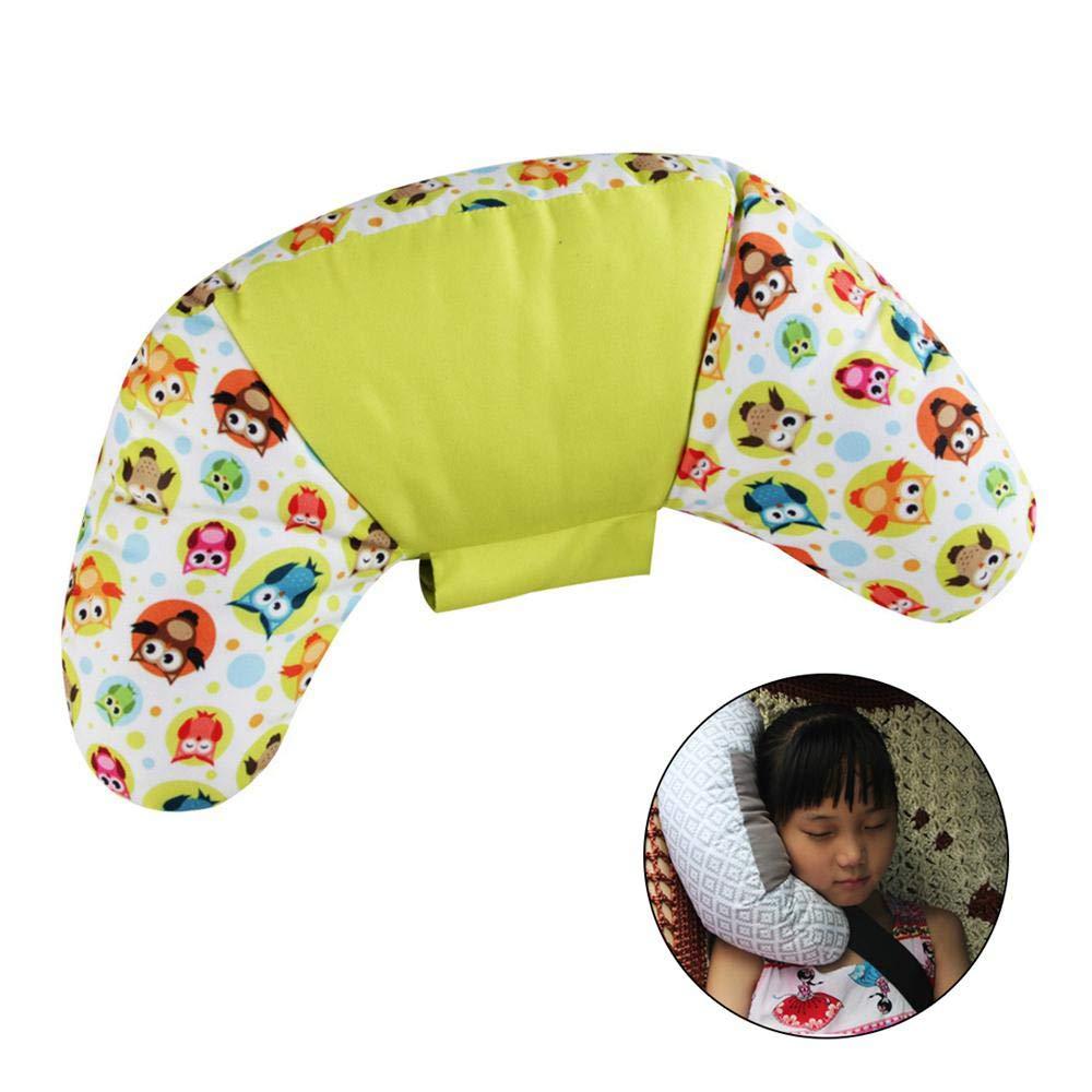 Ceepko Kindersicherheitsgurt Kissen um die Halswirbel zu sch/ützen Sicherheitsgurt Nackenkissen wird verwendet lindern Impuls geeignet f/ür Kinder und Erwachsene PP Baumwolle