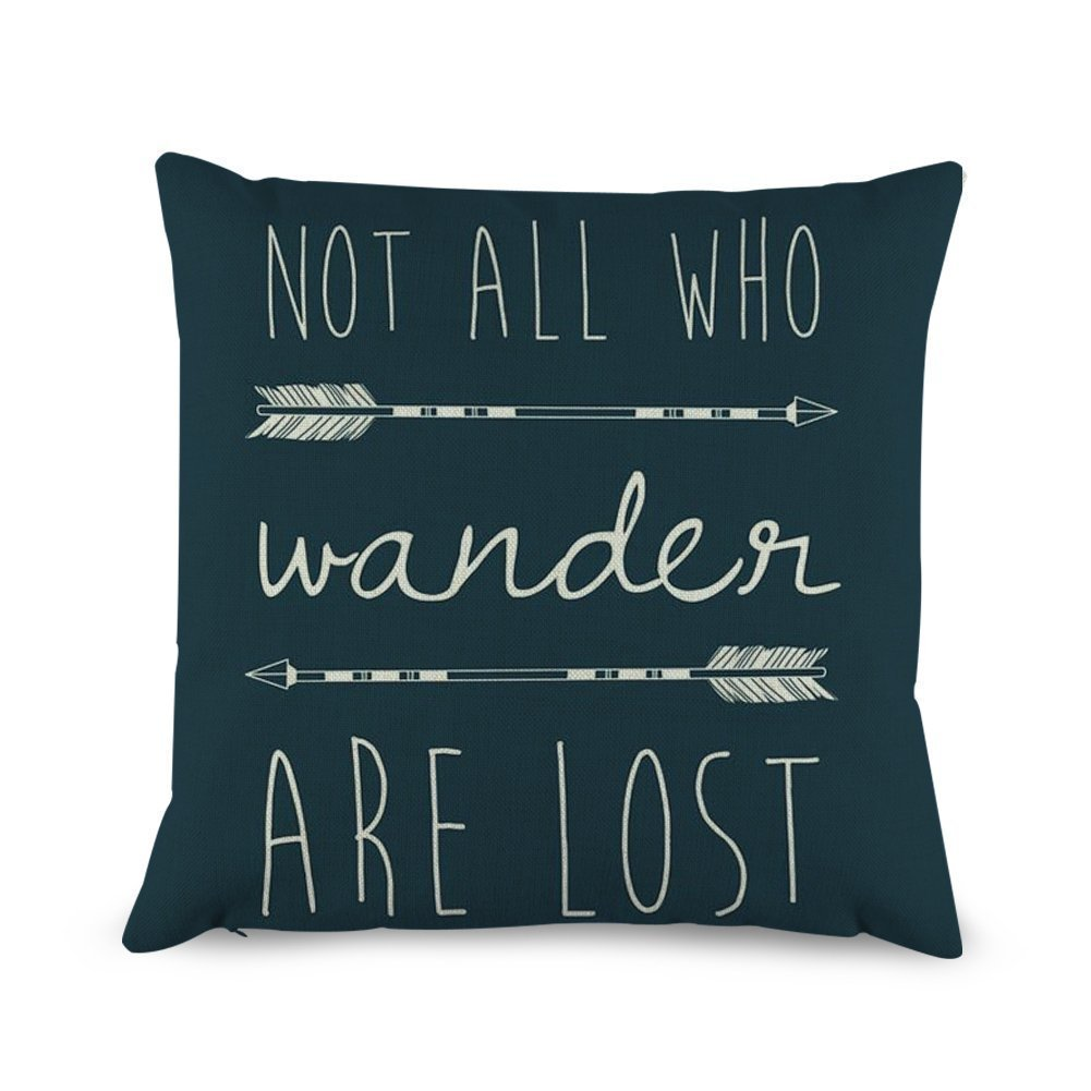 Not All Who Wander Are Lost Pi...