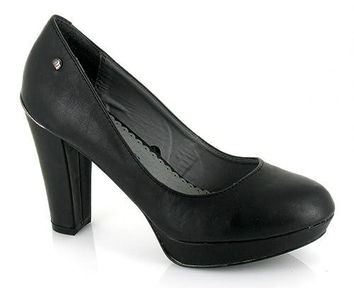 Mustang, 56431, Zapato negro de Mujer, talla 40: Amazon.es: Zapatos y complementos