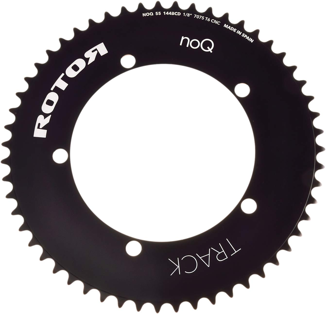 R ROTOR BIKE COMPONENTS Chainring.2014C45T-BCD144X5-3//32-Black