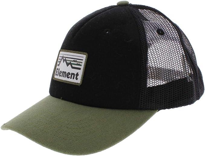 Element Gorra de béisbol para Hombre Negro Excedente Taille Unique ...