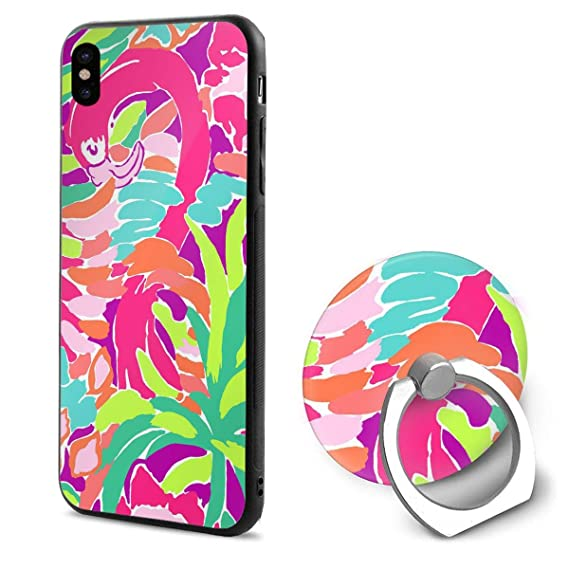 best loved 83165 1b72b Amazon.com: TWD2147FBCUI Lilly Pulitzer iPhone X Case iPhone X Cover ...