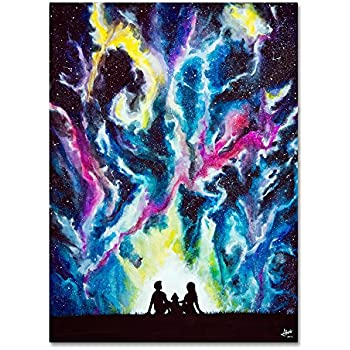 Dance Paint Rain Umbrella MARC ALLANTE ~ TWO STEP ~ 24x36 Poster ~ NEW//ROLLED