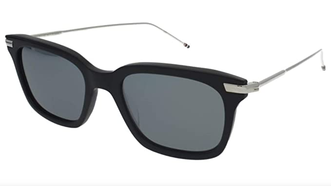 0da56422b74d Image Unavailable. Image not available for. Color  Thom Browne TB-701  Navy  - Silver Sunglasses ...