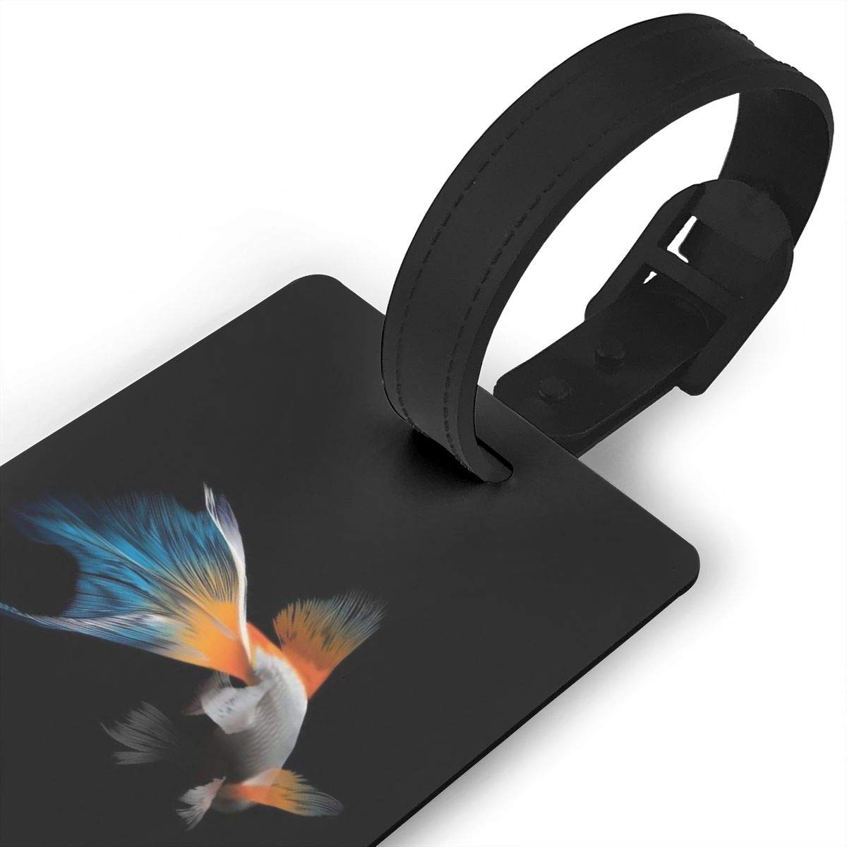 Betta Fish Cruise Luggage Tag For Travel Tags Accessories 2 Pack Luggage Tags