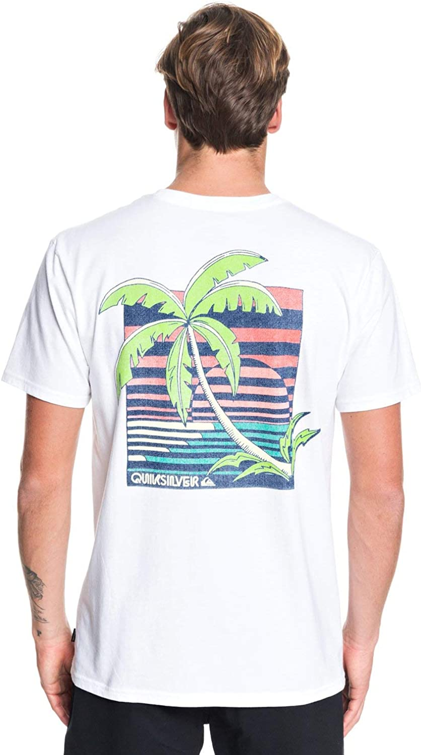 Quiksilver Mens in The Jungle S//S Shirts