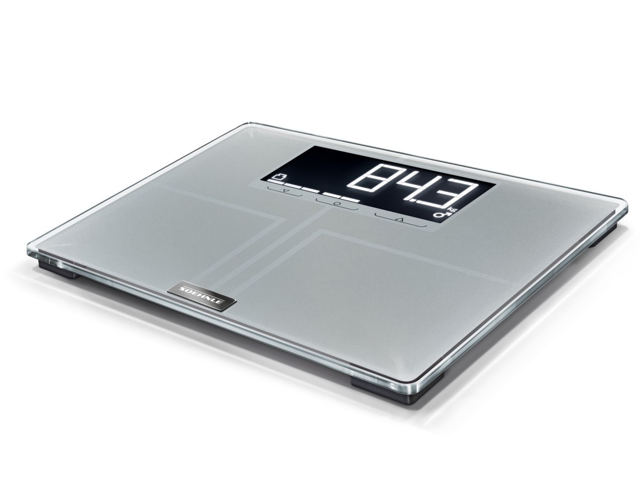 Soehnle 63869 Pesa Persona Elettronica di Analisi Corporea Shape Sense Profi 300 200 kg Leifheit