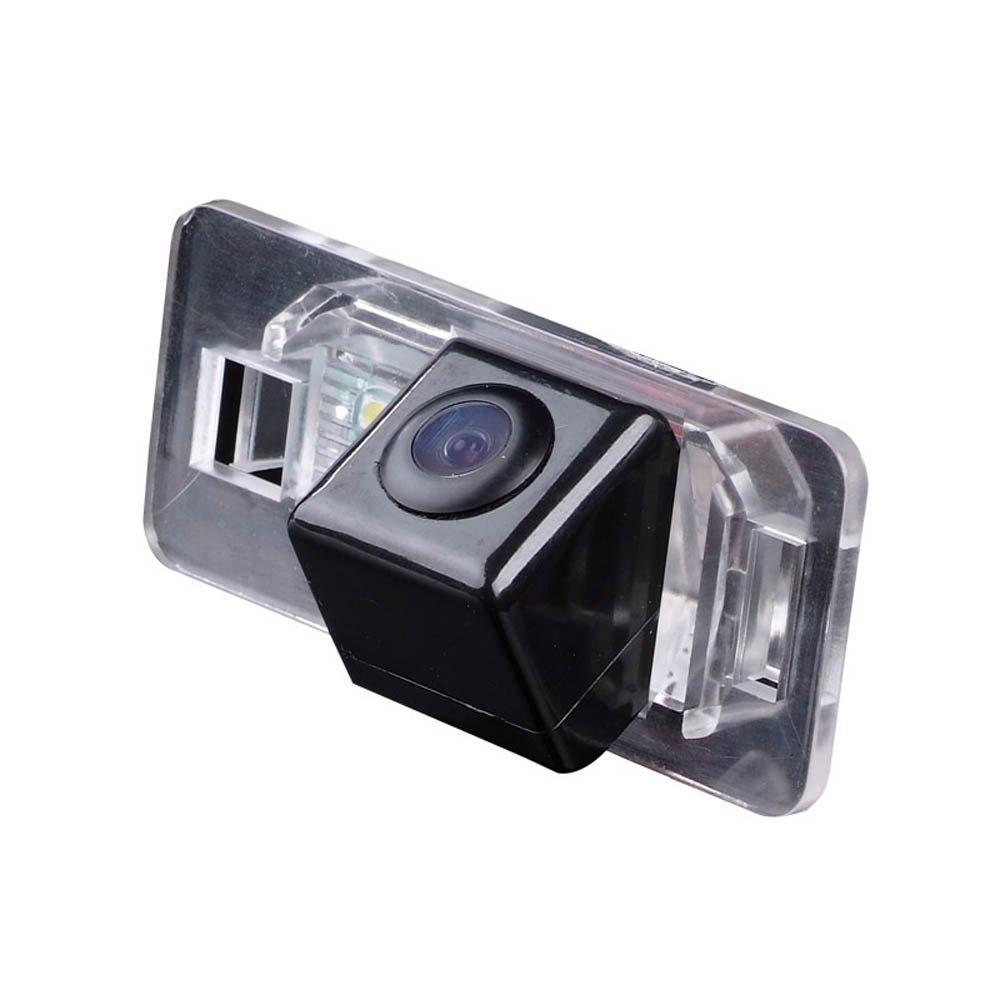 Kalakus HD Visió n Nocturna impermeable Color Vista Posterior de la cá mara como luz de la matrí cula, para BMW E38 E39 E46 E60 E61 E65 E66 E90 E91 E92 735 740 745 750 760 KA8020D-GE