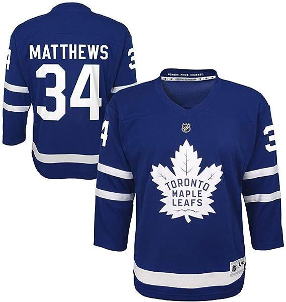 Auston Matthews Toronto Maple Leafs NHL Youth Blue Player Jersey