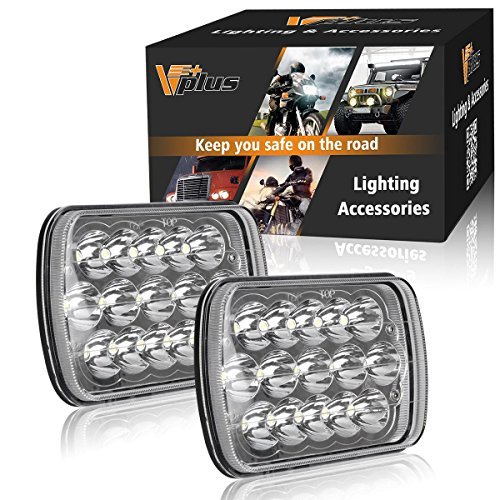 7x6 led halo headlights - 3
