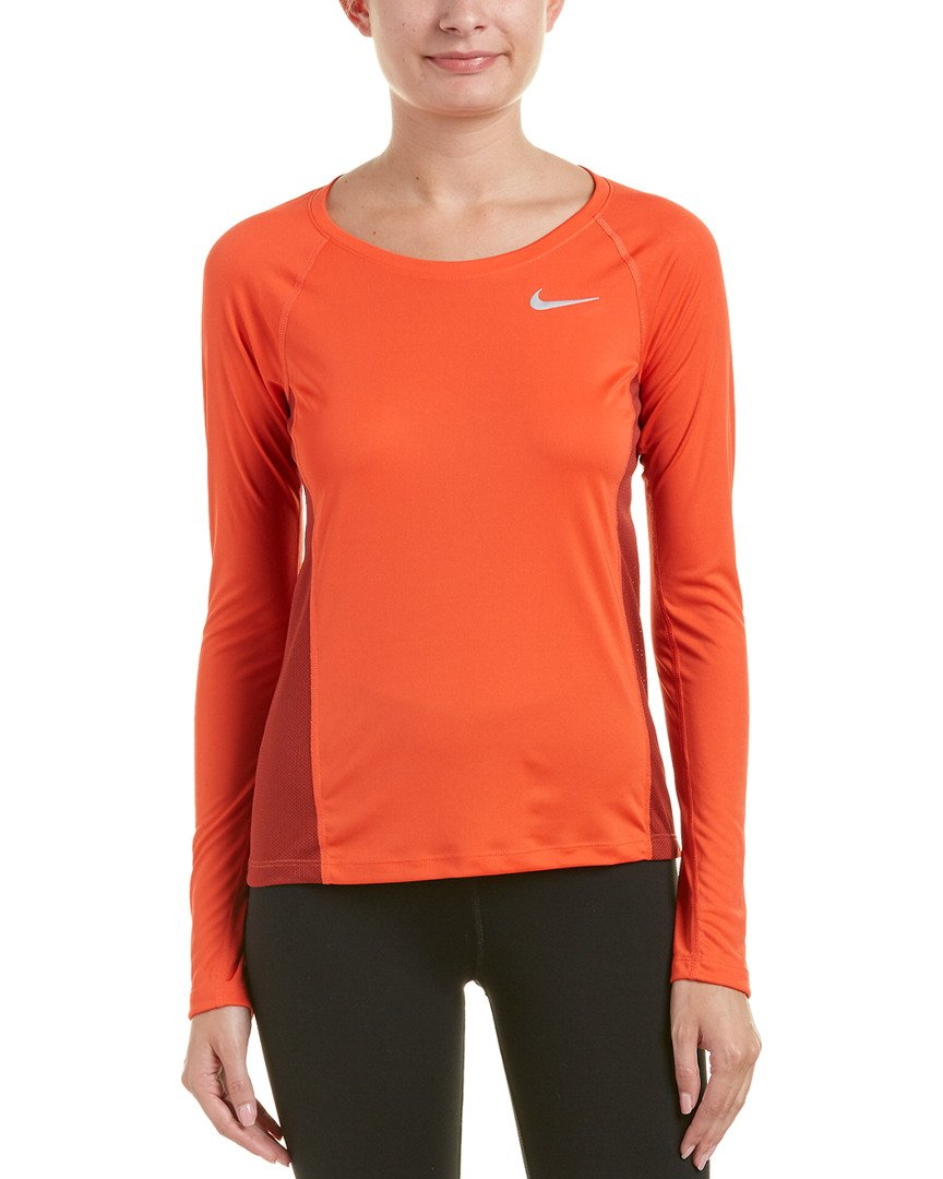 e9808468722c1 Amazon.com: Nike Women Medium Dri-Fit Running Top Athletic Apparel: Clothing