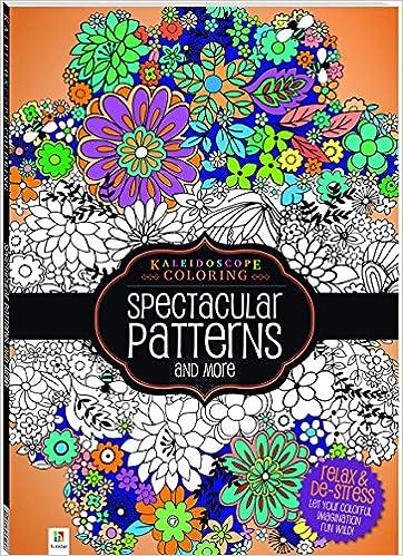 Amazon Kaleidoscope Coloring Spectacular Patterns 9781488903168 Hinkler Books