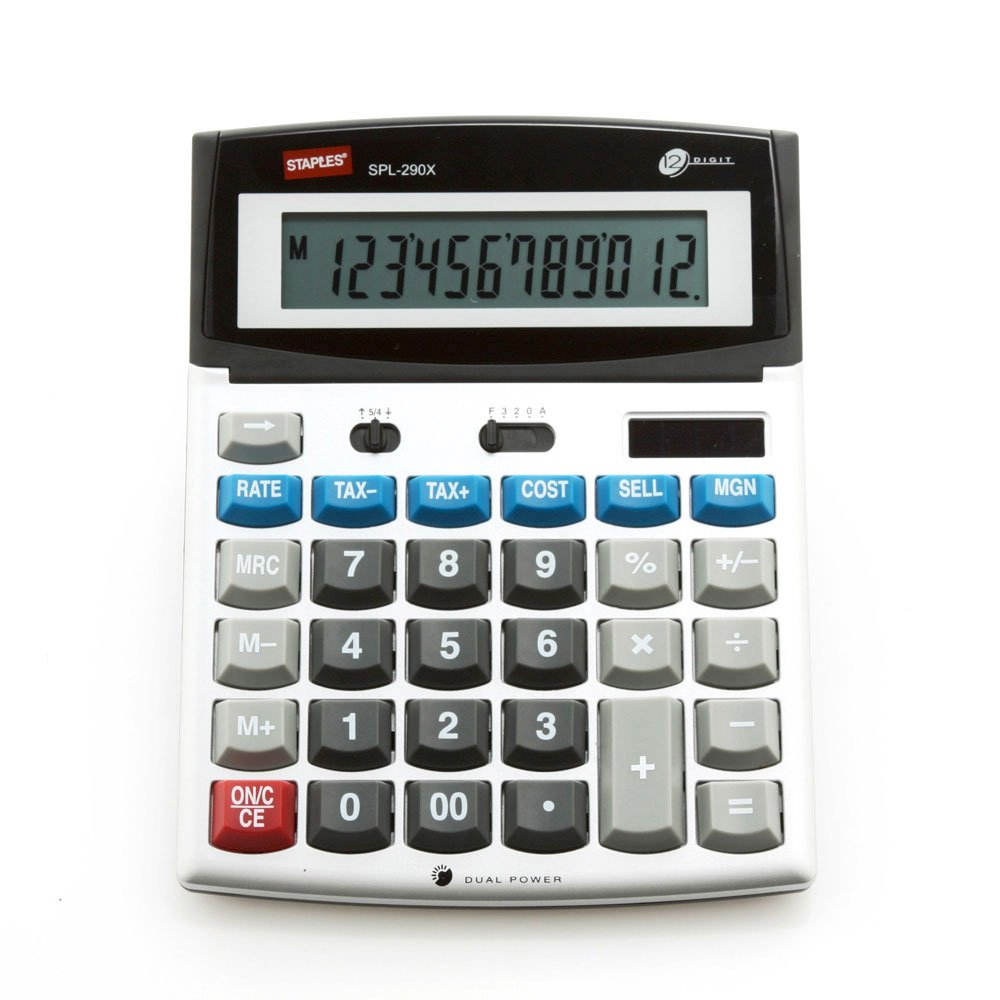 Staples? SPL-290X Desktop Calculator
