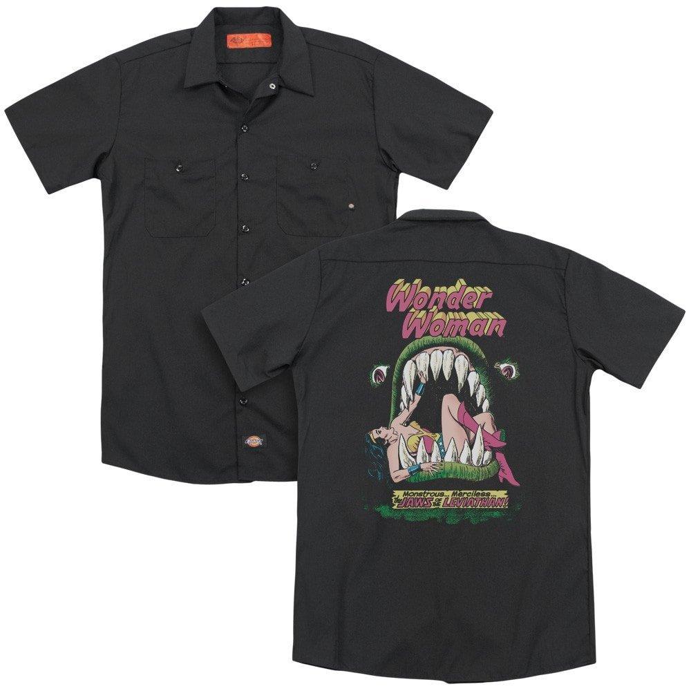 DC Comics Jaws Adult Work Shirt