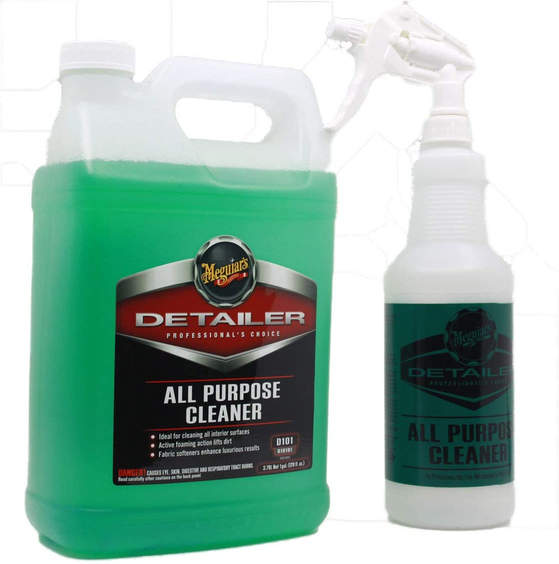 PBMG Meguiars All Purpose Cleaner 128oz & All Purpose Cleaner Bottle with Sprayer