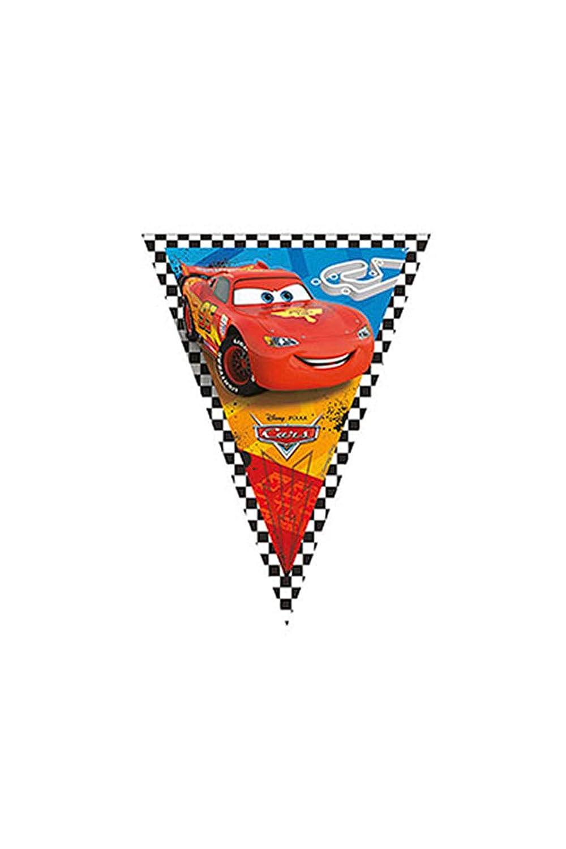 amscan Banderín Triangular Cars