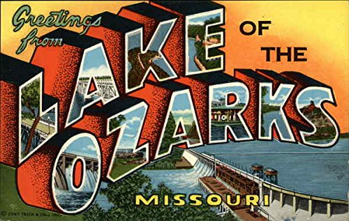 Amazon com: Greetings from Lake of the Ozarks Missouri