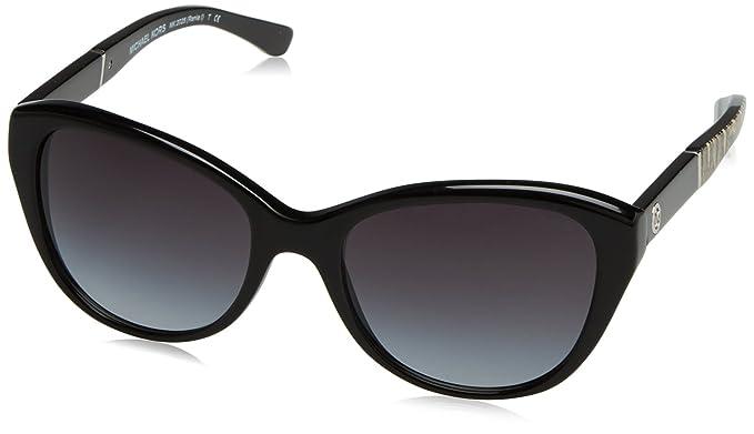 79f5813d941 Amazon.com  Michael Kors Women s 0MK2025 Black Natural Python Sunglasses   Clothing