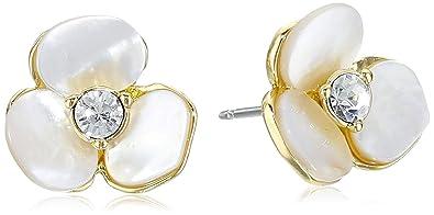 c115ceccf Amazon.com: kate spade new york Disco Pansy Stud Earrings: Earrings ...