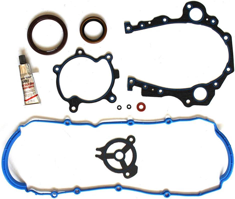 FINDAUTO Automotive Engine Lower Gasket Set fits Buick Lucerne 3.9L 2009-2011