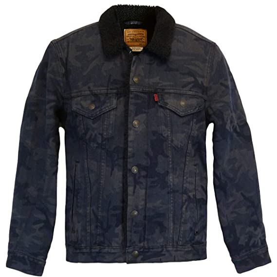 75048951662f5 Levi's ® Type 3 Sherpa Justin Timberlake jeans jacket black camo ...