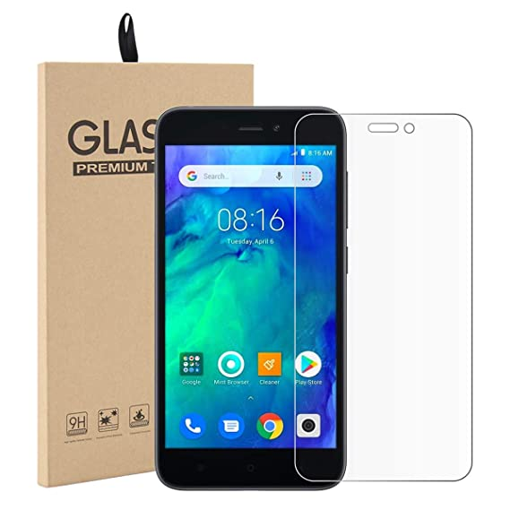 size 40 48a26 4c907 Amazon.com: 1 Pack Xiaomi Redmi Go Tempered Glass Screen Protector ...