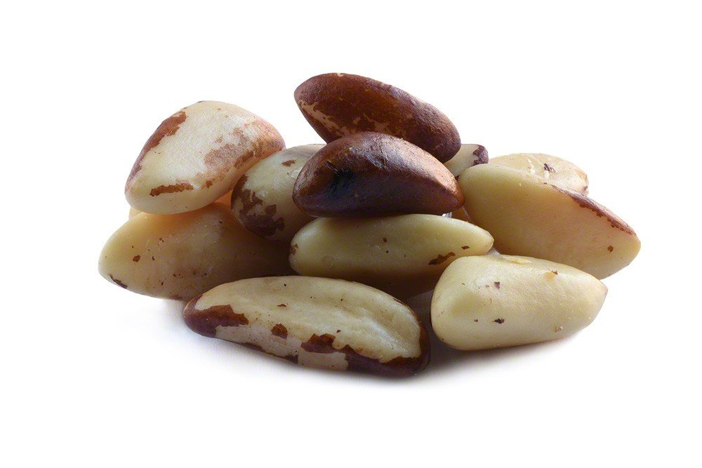 Roasted Brazil Nuts Unsalted — 1lb Bag of Roasted Brazil Nuts