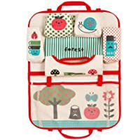 Car Back Seat Hanging Storage Bag Car Organizer Pocket Built-in Pockets and Compartment Useful Organizer for Your Travelling with Kids