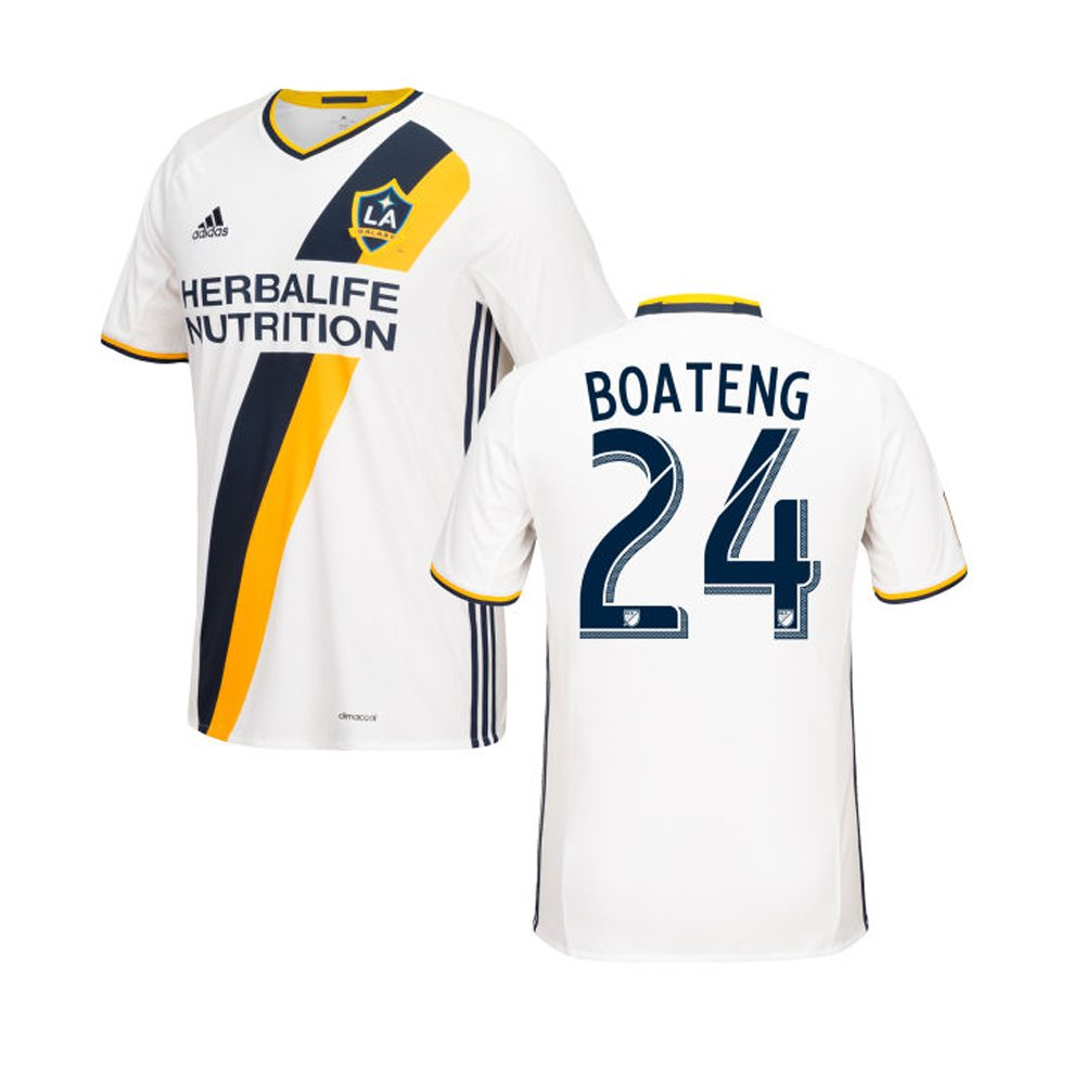 Adidas BOATENG #24 LA Galaxy Home Soccer Jersey 2016 - YOUTH(Authentic name & number)/サッカーユニフォーム LA ギャラクシー ホーム用 ボアテング ジュニア向け B01CT8HO6S Y-X-Large
