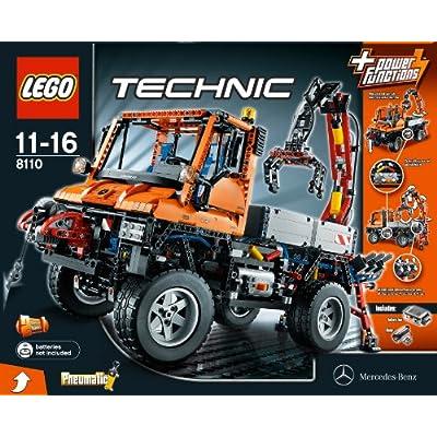 LEGO Technic Unimog U400 (8110): Toys & Games