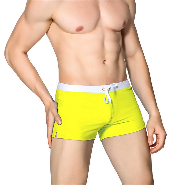 Beach Pants Breathable and Quick-Drying Swimwear Swimming Trunks hot Swimsuit Men Swim Briefs Beach Shorts