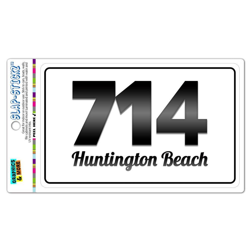 Amazon com area code bw window laminated sticker 714 california ca anaheim yorba linda huntington beach automotive