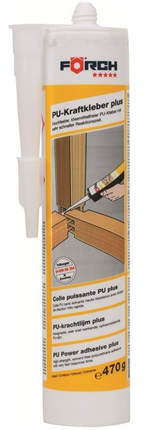 FÖRCH PU de fuerza adhesivo Plus 470 g cartucho DIN EN 204 D4 – hochfester,