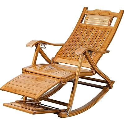 Poltrona Chaise Lounges, Sedia a dondolo Patio Chaise longue di ...