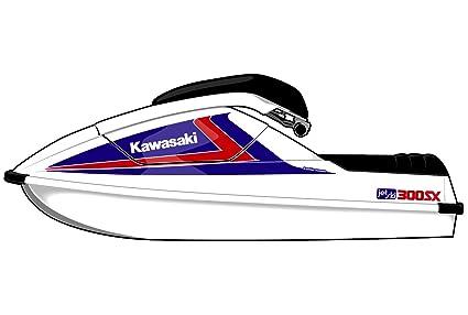 Amazon.com: Exotic Signs Kawasaki Jet Ski 300 SX Graphic Kit ...